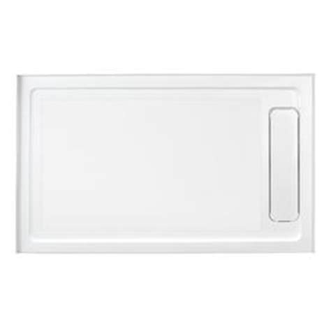 Ove Shower Base shop ove decors white acrylic shower base common 36 in w x 60 in l actual 36 in w x 60 in l