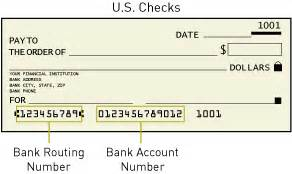how to find bank routing number glossary authorize net