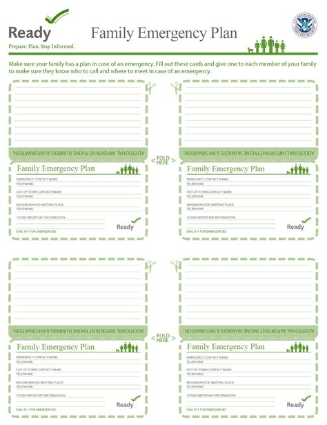 Communication Plan Emergency Communication Plan Family Family Preparedness Plan Template