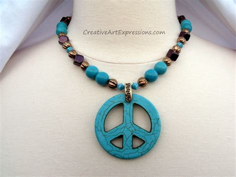 Creative Handmade Jewelry - creative expressions handmade turquoise necklace