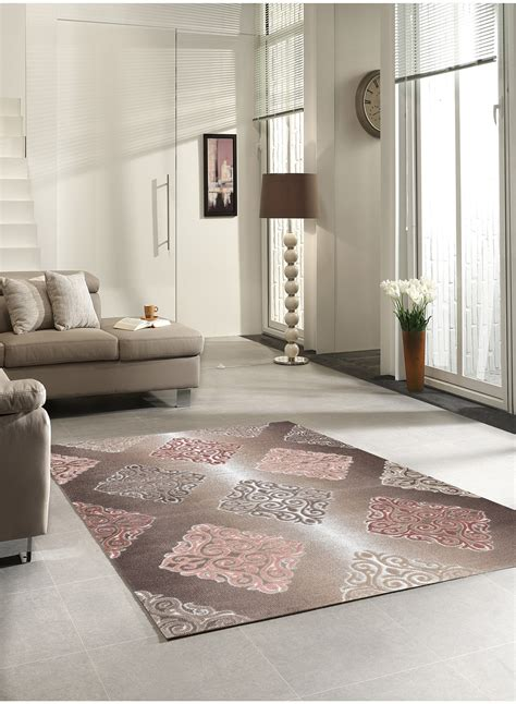 tapis salon tapis de salon barmynio marron