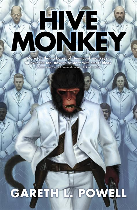 hive book 8 hive monkey book by gareth l powell official publisher