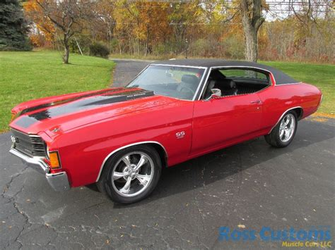 SOLD ? 1972 Chevrolet Chevelle SS 454 « Ross Customs