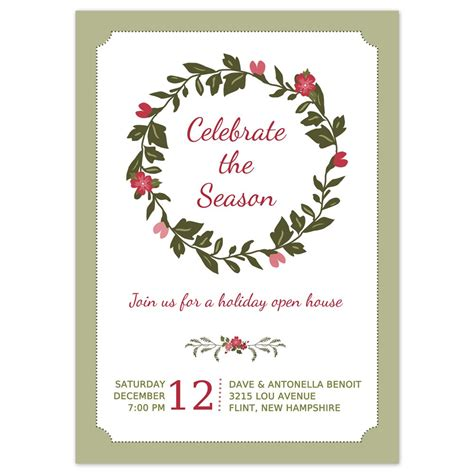 templates for christmas party invitations holiday party invite template invitation librarry