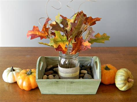easy decorations quick and easy fall centerpiece organize and decorate
