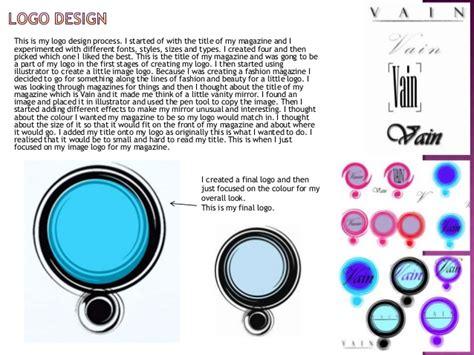 magazine layout evaluation magazine evaluation powerpoint