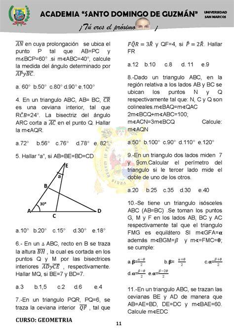 C M B 30 ejercicios pr 225 cticos de geometr 237 a monografias