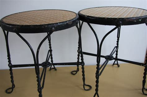ice cream bar stools 2 vintage antique parlor ice cream bar stools ebay