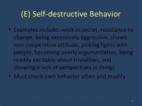 11 Self Destructive Behaviors by 11 Engineers As Managers Leaders