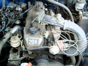 1980 toyota 20r 4 cylinder engine youtube