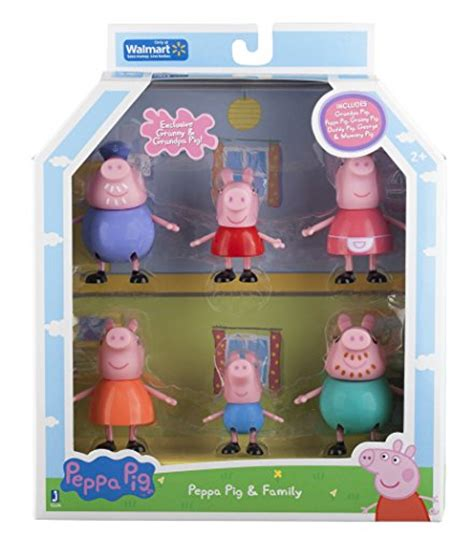 Family Set Fml 013 peppa pig and family figure exclusive set of 6 import it all