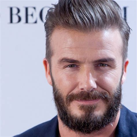 david beckham hairstyles and beard david beckham beard 2018