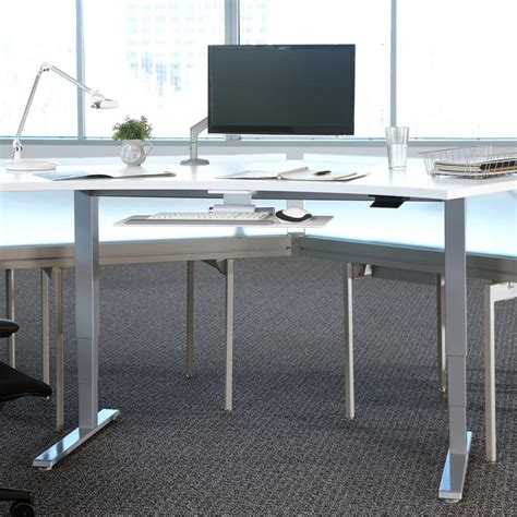 humanscale float table float height adjustable sit stand table humanscale desk ideas
