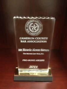 Cameron County Divorce Records Ricardo Barrera Given The Cameron County Bar Association