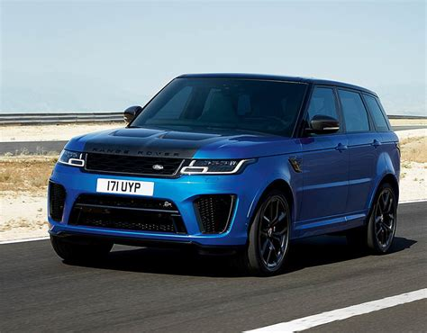 2018 new range rover range rover sport svr 2018 new car specs design and