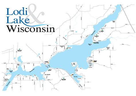 wisconsin lakes map maps of the area