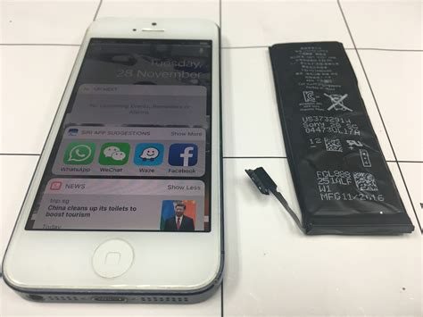 Hp Iphone Di Bandar Lung battery iphone 5 replacement chamo johor bharu