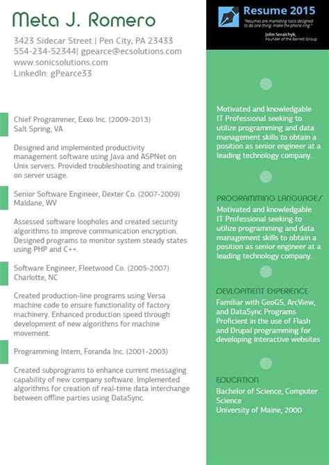 magnificent resume formatting tips resume formats for software professionals krida info