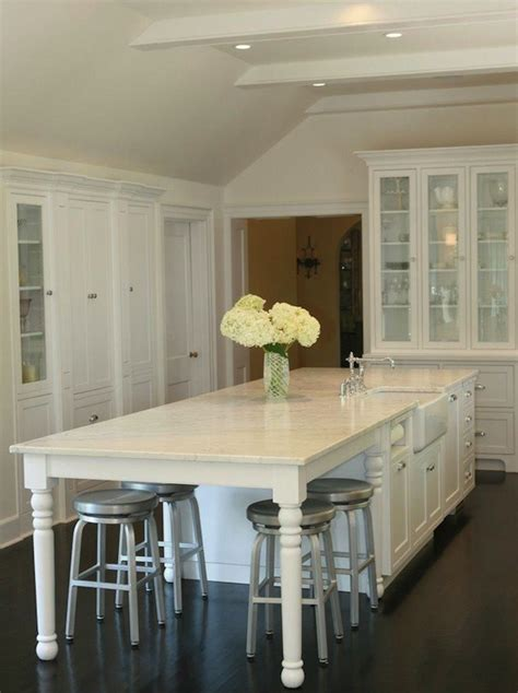 kitchen island with table seating kitchen island traditional kitchen west end