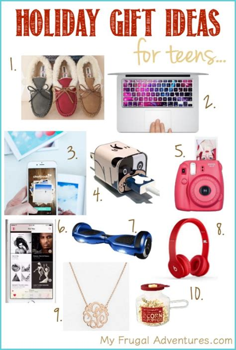 holiday gift guide for teens my frugal adventures