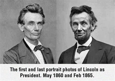Abraham Lincoln Years In Office by Ten Years Aging For Every Four In Office The Meta Picture
