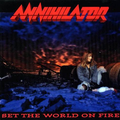 Cd Annihilator annihilator 2 set the world on at discogs