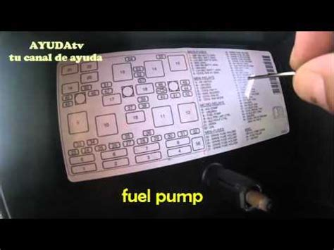 como se llama el fusible de la bomba de gasolina download video medici 243 n presi 243 n gasolina