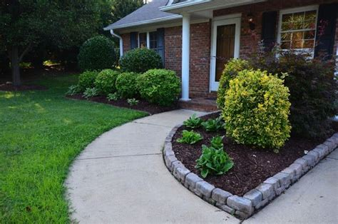 stone flower bed border stone flower bed border gardens pinterest