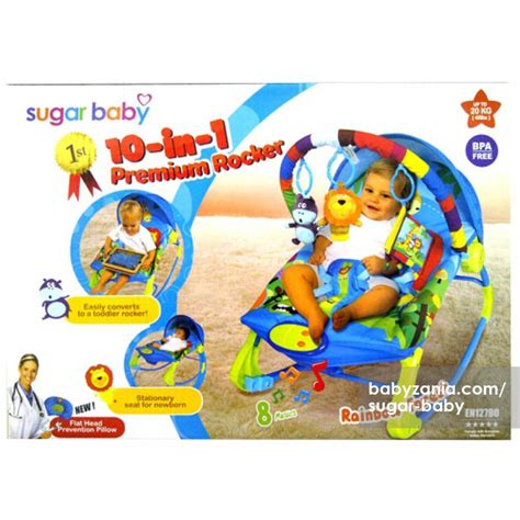 Murah Sugar Baby Bouncer Sugar Chef Pink kekurangan sugar baby bouncer 10 in 1 premium rocker