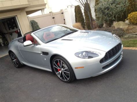 Buy Used Aston Martin by Buy Used Aston Martin 2011 Vantage N420 Convertible In