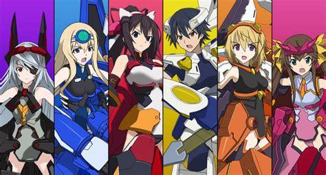 Sao Light Novels Infinite Stratos Anime Gets 3d Action Pc Game News