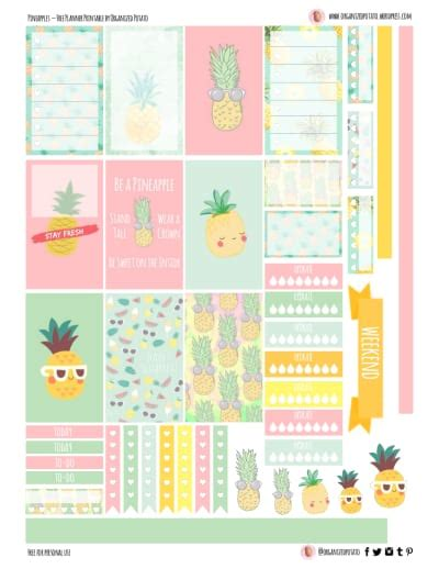 happy healthy life printable planner daily planner printable free happy planner printables