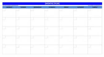 blank calendar template excel blank monthly template calendar calendar template 2016