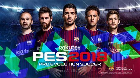 Pro Evolution Soccer (PES) 2018 Full Repack   Patch