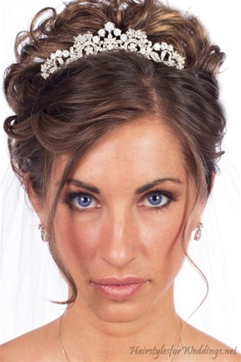 American Wedding Hairstyles With Tiara by 17 Best Ideas About Tiara Hairstyles On