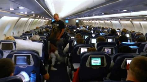 Delta Airlines Interior by Boarding And Onboard Delta Airlines Detroit Amsterdam
