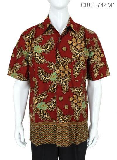 Kemeja Batik Baturaden M kemeja batik baturaden motif daun warna kemeja lengan
