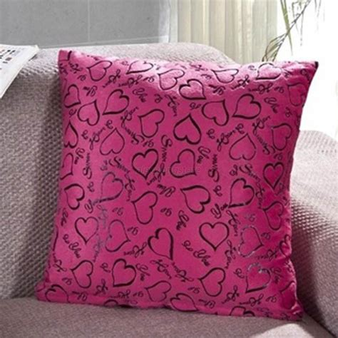 bed throw pillows heart retro throw pillow cases home bed sofa decorative