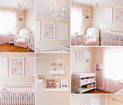 baby nursery decor different shapes shabby chic baby girl