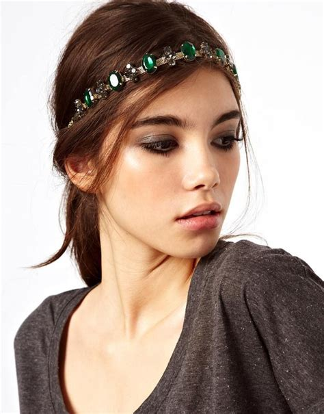 hairstyles with jeweled headband hair jewelry for fancy hairstyles glam radar