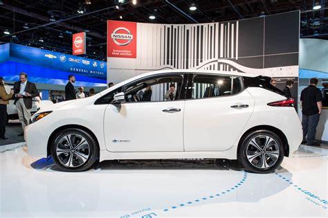 leaf nissan black 2018 nissan leaf first drive review motor trend
