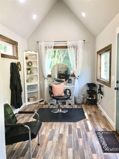 beauty salon  garden shed home hair salons salon
