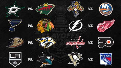 Stanley Cup Playoffs Standings by Last Day Of Regular Season Clears Up Playoff Picture Nhl Com