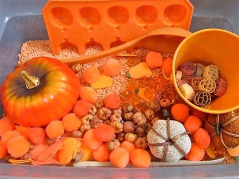 Rainbow Rice Orange plenty of pumpkins sensory tubs orange quot rainbow rice