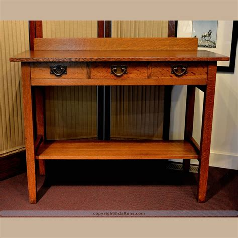 Roycroft Bookcase Gustav Stickley Serving Table For Sale Dalton S American