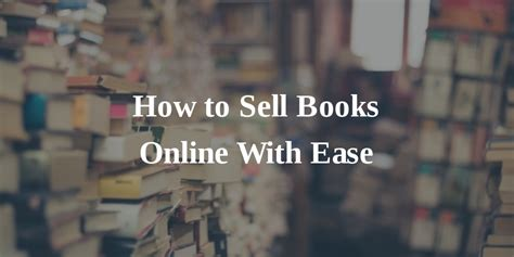 How To Make Money Selling Books Online - home business ideas archives home business ideas that work
