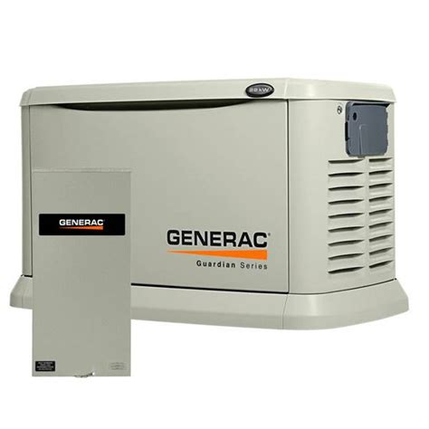 generac 22kw 19 5kw standby generator with 200 switch