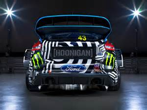 ken block s new focus rs is a visual trip shifting lanes