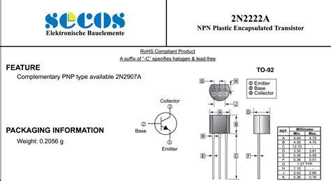 Transistor 2n2222 2n 2222 Npn 1 jual transistor tr npn 2n2222a 2n2222 a 2n 2222 a