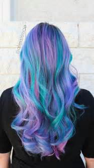 mermaid colored hair best 25 mermaid hair colors ideas on mermaid